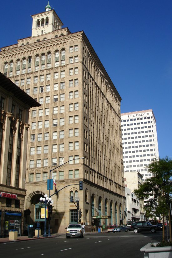San Diego Trust and Savings Bank Building - Wikipedia |San Diego Trust And Savings